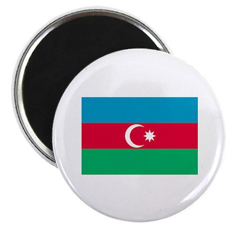 "Azerbaijan flag 2.25"" Magnet (100 pack)"