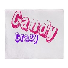 Candy Crazy Throw Blanket