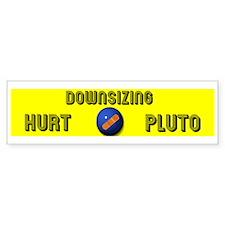 Pluto Downsized 2006 Bumper Bumper Sticker