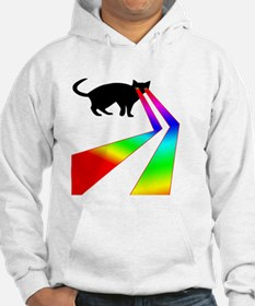 Kitty Cat with Laser eyes shirt Hoodie