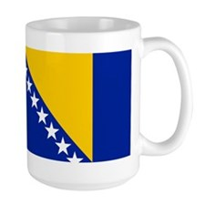 Bosnia and Herzegovina flag Mug