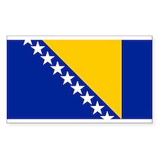Bosnia and Herzegovina flag Decal