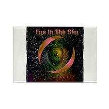 eye in the sky art illustration Rectangle Magnet