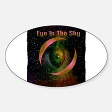 eye in the sky art illustration Decal