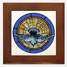Holy Spirit Dove Framed Tile
