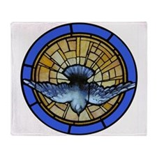 Holy Spirit Dove Throw Blanket