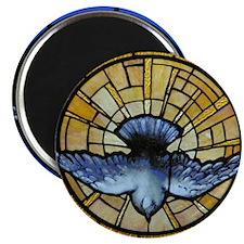 """Holy Spirit Dove 2.25"""" Magnet (10 pack)"""