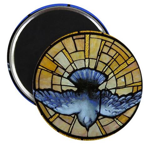 """Holy Spirit Dove 2.25"""" Magnet (100 pack)"""