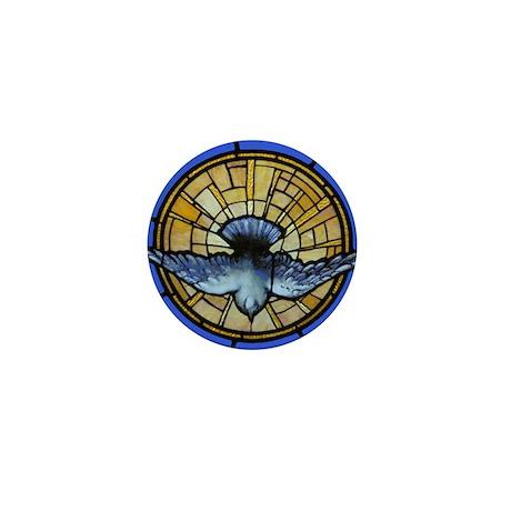 Holy Spirit Dove Mini Button