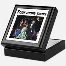 Four More Years: Obama 2012 Keepsake Box