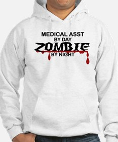Medical Assistant Zombie Hoodie