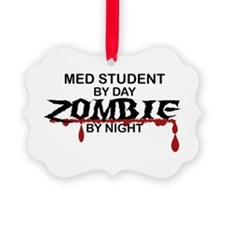 Med Student Zombie Ornament