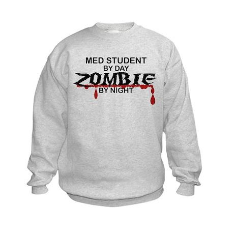 Med Student Zombie Kids Sweatshirt