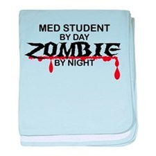 Med Student Zombie baby blanket