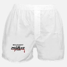 Med Student Zombie Boxer Shorts