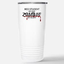 Med Student Zombie Stainless Steel Travel Mug