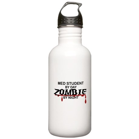 Med Student Zombie Stainless Water Bottle 1.0L