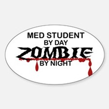 Med Student Zombie Decal
