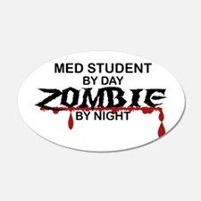 Med Student Zombie Wall Decal