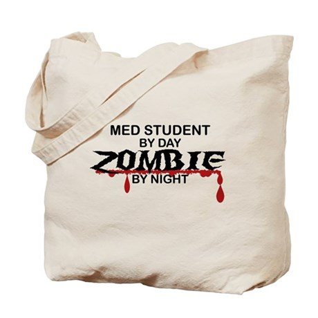 Med Student Zombie Tote Bag