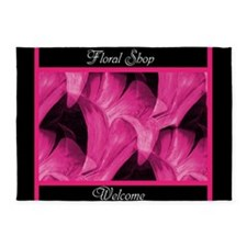 Floral Shop Welcome by Mark Moore 5'x7'Area Rug