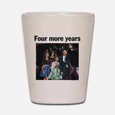 Four Mour Years: Obama 2012 Shot Glass