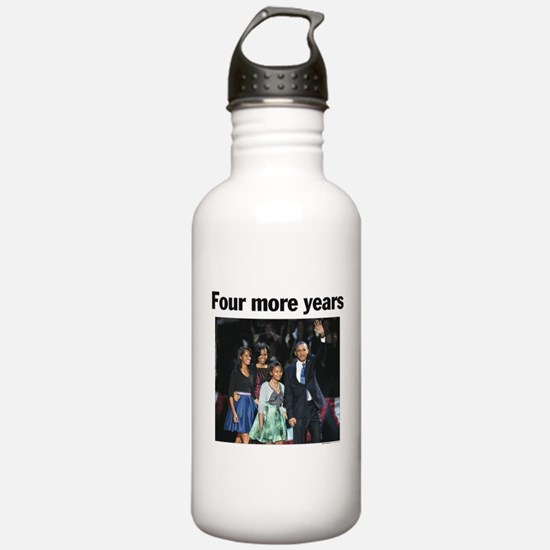 Four Mour Years: Obama 2012 Sports Water Bottle