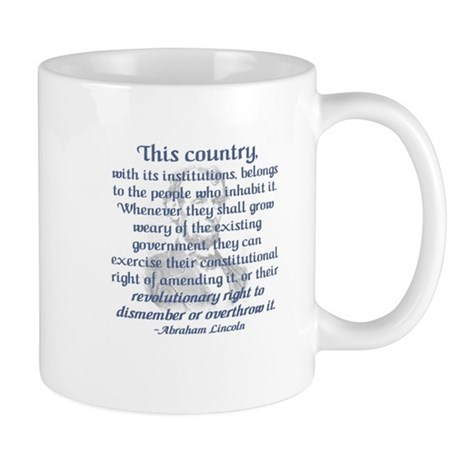 """Revolutionary Right"" Mug"