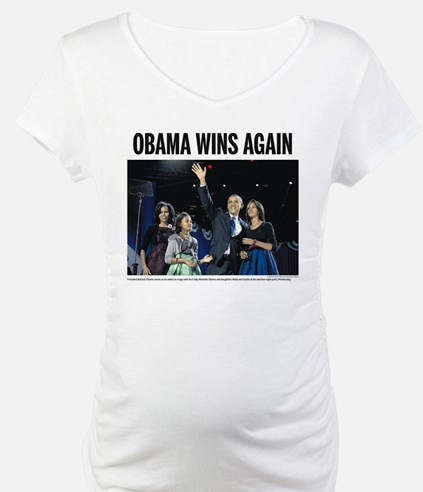 Obama wins again Shirt