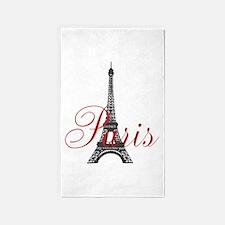 Paris Always 3'x5' Area Rug