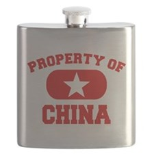 Property Of China Design Flask