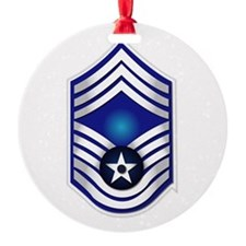 USAF - CMSgt(E9) - No Text Ornament