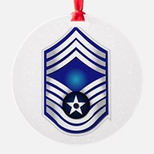USAF - CMSgt(E9) - No Text Ornament