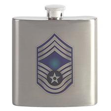 USAF - CMSgt(E9) - No Text Flask