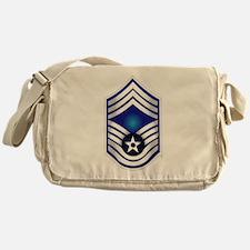 USAF - CMSgt(E9) - No Text Messenger Bag