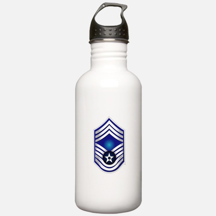 USAF - CMSgt(E9) - No Text Water Bottle