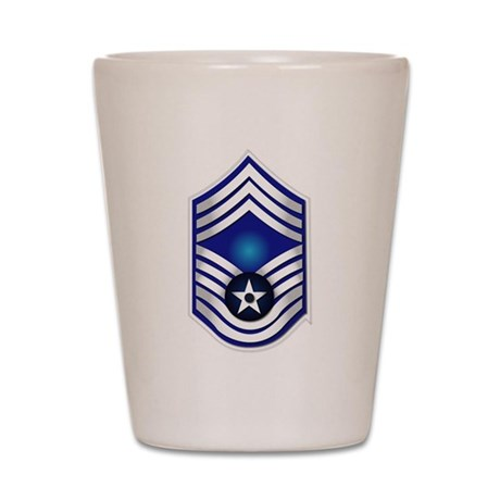 USAF - CMSgt(E9) - No Text Shot Glass