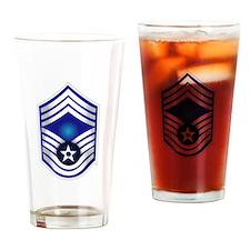 USAF - CMSgt(E9) - No Text Drinking Glass