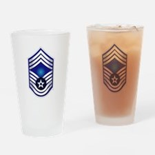 USAF - CMSgt(E9) - No Text Drinking Glass