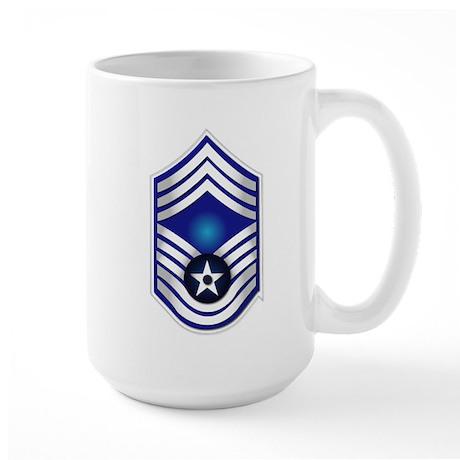 USAF - CMSgt(E9) - No Text Large Mug