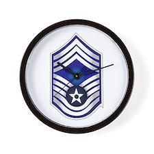 USAF - CMSgt(E9) - No Text Wall Clock