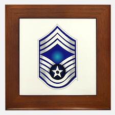 USAF - CMSgt(E9) - No Text Framed Tile