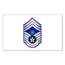 USAF - CMSgt(E9) - No Text Decal