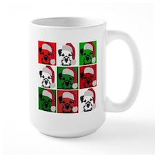 New Warhol Santa hat.png Mug
