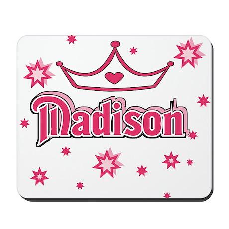 Madison Princess Crown w/Stars Mousepad