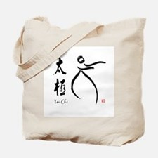Tai Chi form and kangi Tote Bag