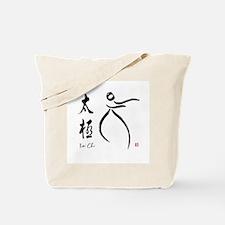 Tai Chi form and kangi Tote Bag