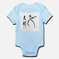 Tai Chi form and kangi Infant Bodysuit