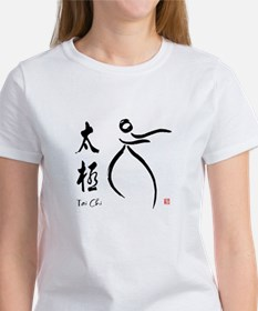 Tai Chi form and kangi Women's T-Shirt
