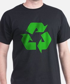 Recycle Green Arrows Design T-Shirt